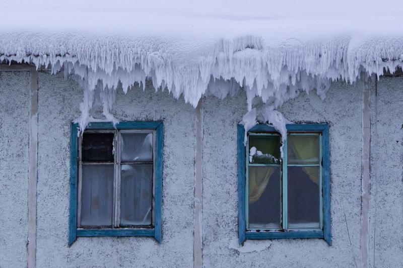 Šalčiausiame Žemės kaime temperatūra nukrenta iki -71 laipsnio (foto)