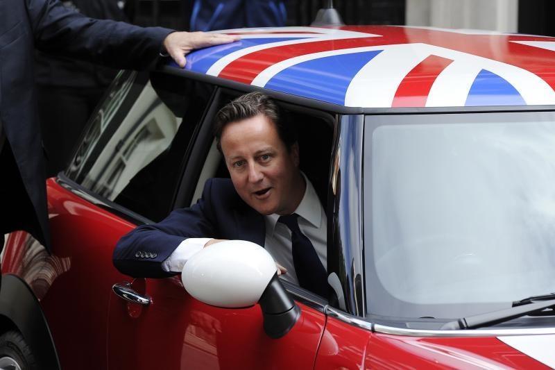 D. Cameronas pažadėjo iki 2017 m. surengti referendumą dėl narystės ES