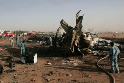 Sudane sudužus lėktuvui žuvo keturi rusai