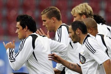 """""""Euro 2008"""": šios dienos favoritai – Vokietija ir Lenkija"""