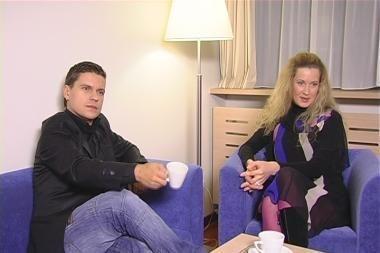 Deivis net neketina vesti nėščios R.Voitechovskajos