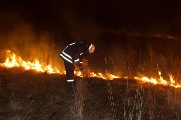 Ugniagesiai prašo nedeginti pernykštės žolės ir primena, kad už tai gresia baudos