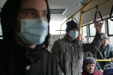 Gripo epidemija paskelbta trečdalyje Lietuvos savivaldybių