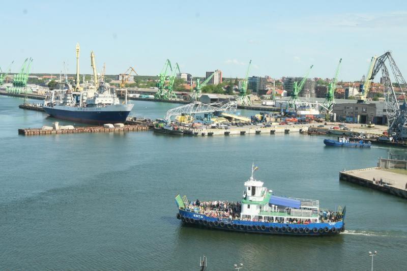 Klaipėdos uostas į šalies biudžetą turės pervesti 50 proc. pelno