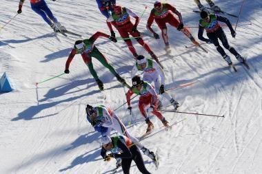Lietuviai komandiniame sprinte aplenkė keturių šalių atstovus