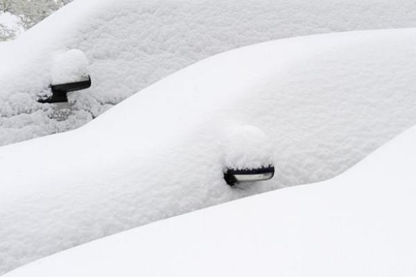 Vokietijoje iškrito 15 cm sniego