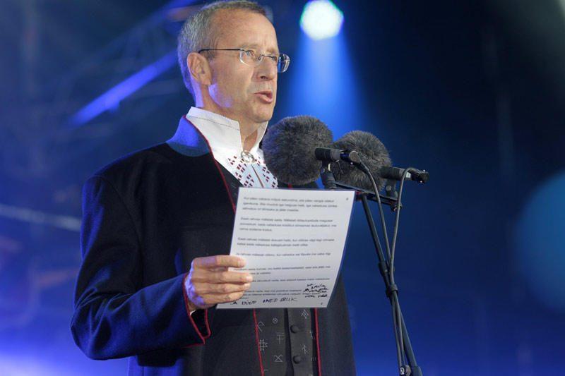 Estijos rezidentas ragino atvirai kalbėti apie šalies okupaciją