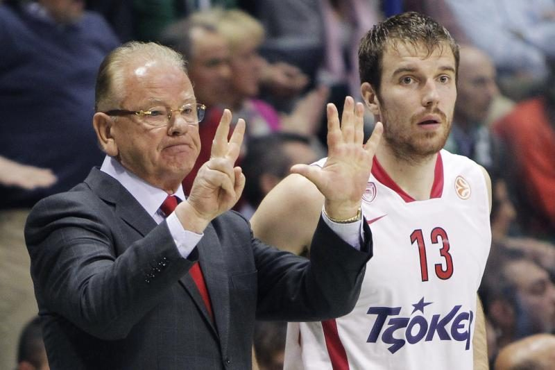 M.Gecevičiaus komanda tapo Graikijos reguliaraus sezono nugalėtoja