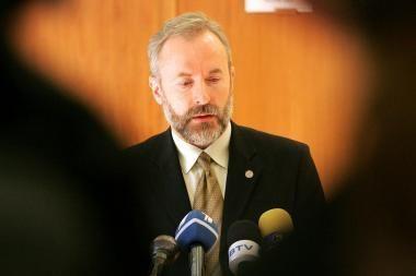 J.Razma: dėl koalicijos praplėtimo deramasi su atskirais Seimo nariais