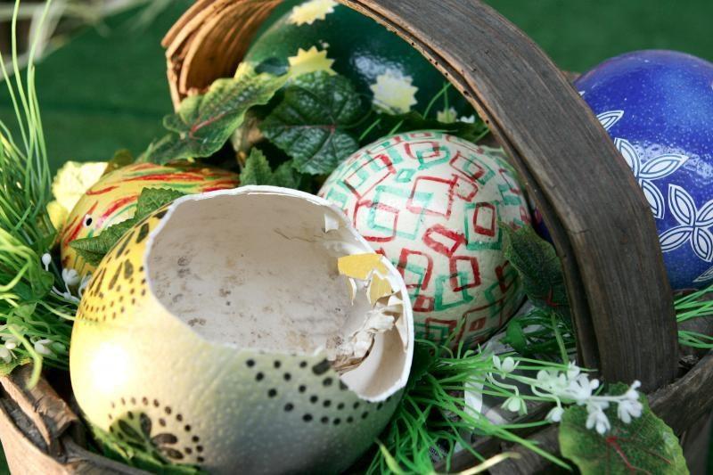 Šv. Velykų savaitgalis bus ramus, bet apniukęs