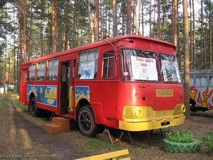 Nurašyti autobusai – vaikų vasaros stovyklai (foto)