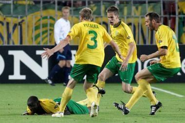 Slovakai veržiasi į Čempionų lygą