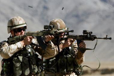 Šaudyti ėmęs afganų karys sužeidė amerikiečių ir italų karius