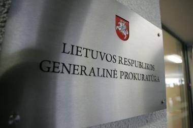 Generalinė prokuratūra atsisakė perimti pavogtos kontrabandos bylą
