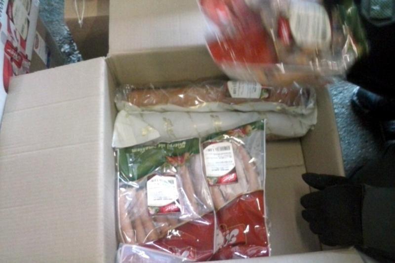 Mokesčių inspektorių laimikis – daugiau nei 2 tonos lenkiškos mėsos