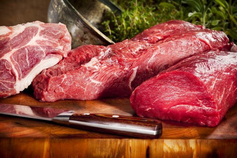 Tyrimas: JAV mėsoje knibždėte knibžda supervabalų