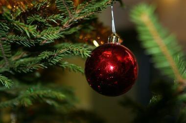 NCTA: pirmoji pasaulyje Kalėdų eglė buvo papuošta Rygoje