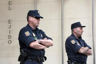 Operacija Ispanijoje: sulaikyti 36 su ETA susiję asmenys
