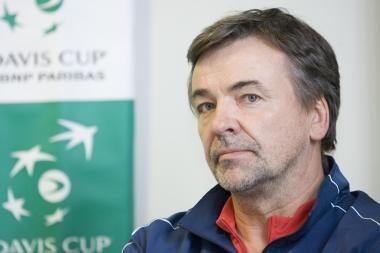 Tenisininkai aukštesnį Deviso taurės divizioną ruošiasi šturmuoti po kelių metų
