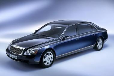 """""""Daimler"""" neparduos """"Maybach"""" prekės ženklo"""