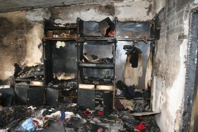 Gaisruose sudegė gyvūnai