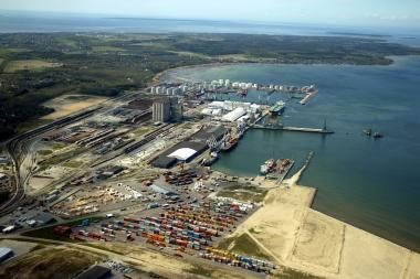 Venesuelos nafta aplenkė Klaipėdos uostą