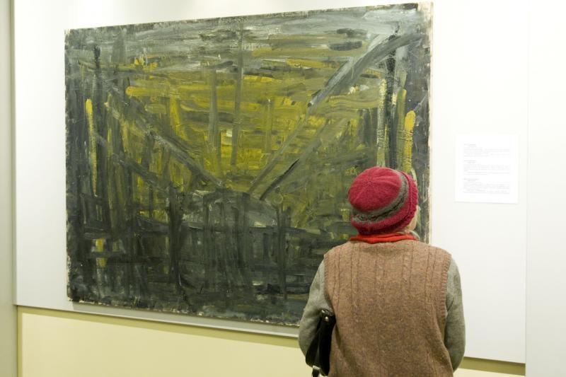 Skvarbus menininkų žvilgsnis – į geležinkelį