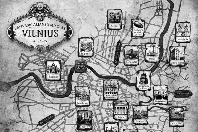 Žurnalistas A. Tapinas fantastiniame romane perrašė Vilniaus istoriją