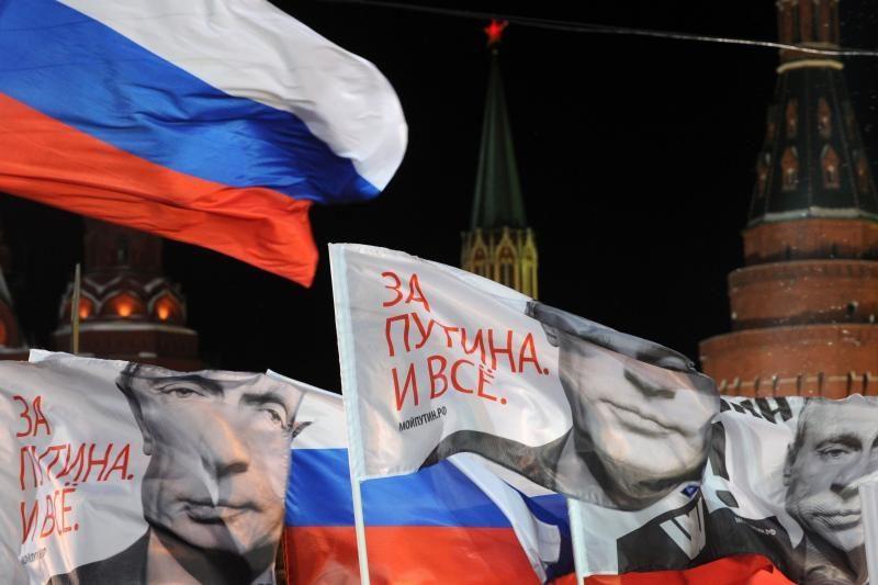 Rinkėjų lyga nepripažįsta Rusijos prezidento rinkimų
