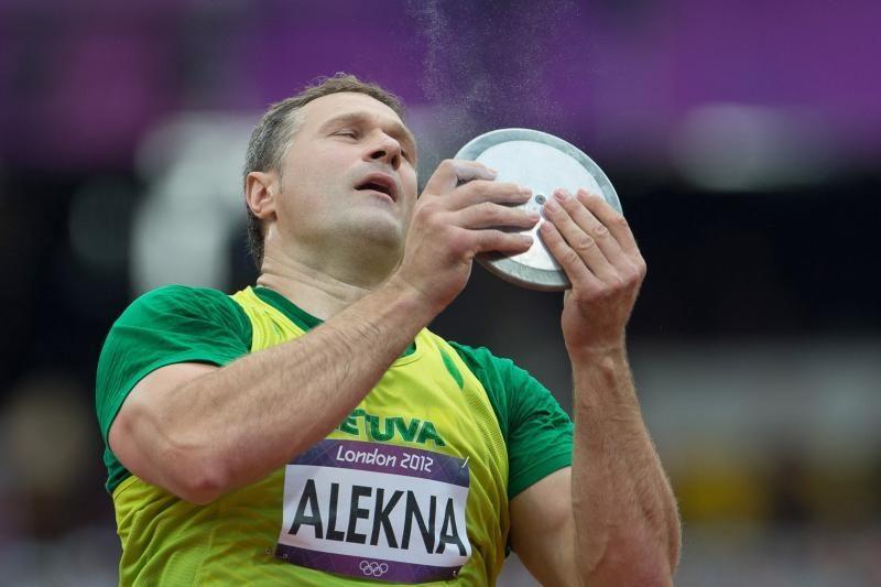 V.Aleknai nepavyko iškovoti olimpinio medalio, jis - ketvirtas