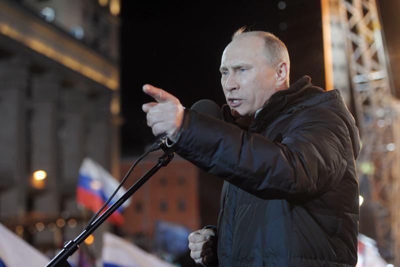 Rusijoje suskaičiavus 100 proc. balsų, V.Putinui teko 63,6 proc.