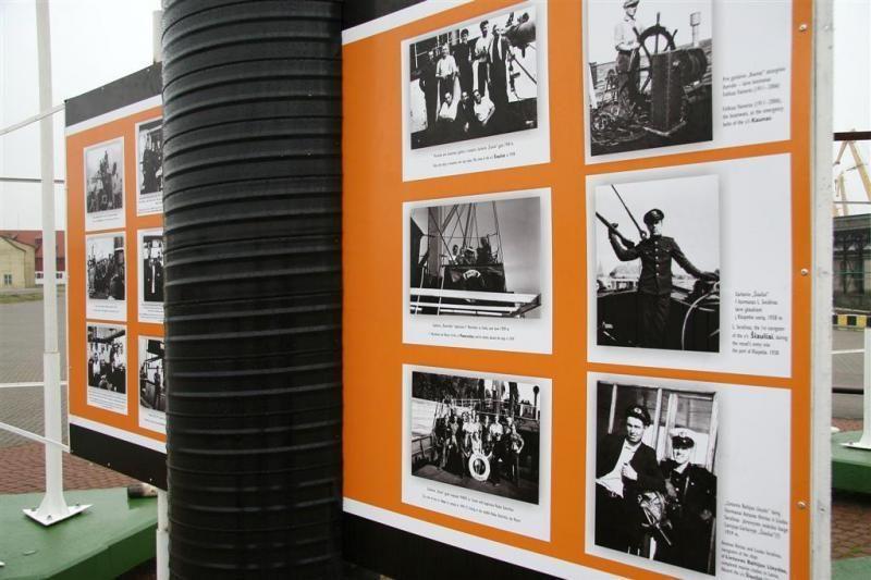Kruizinių laivų terminale – paroda apie nacionalinio laivyno pradžią