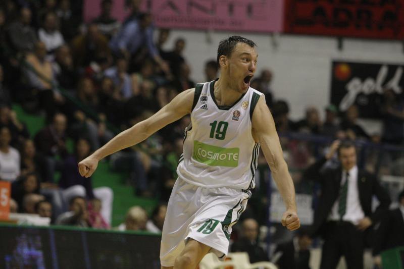 Graikijos čempionui Š.Jasikevičius pelnė dvylika taškų