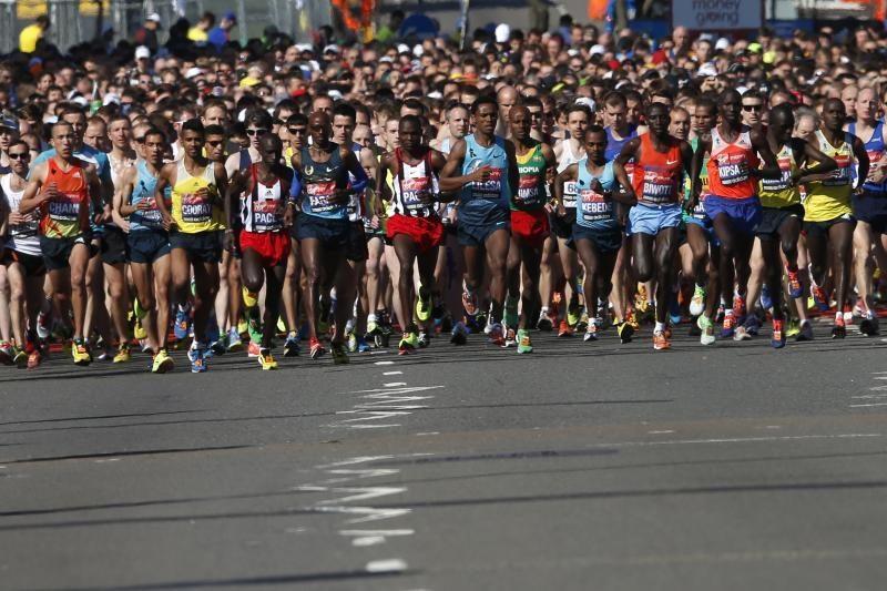 Londono maratono bėgikai: įvykiai Bostone sustiprino ryžtą dalyvauti