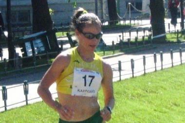 Sportinio ėjimo meistrė K.Saltanovič finišavo septintoji