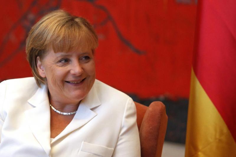 A.Merkel Ukrainoje mato diktatūrą, panašią kaip Baltarusijoje