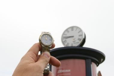Sostinės laikrodžiai skaičiuoja vasaros laiką