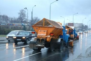 Oro sąlygos - permainingos, šiaurinėje Lietuvoje pusto pažeme