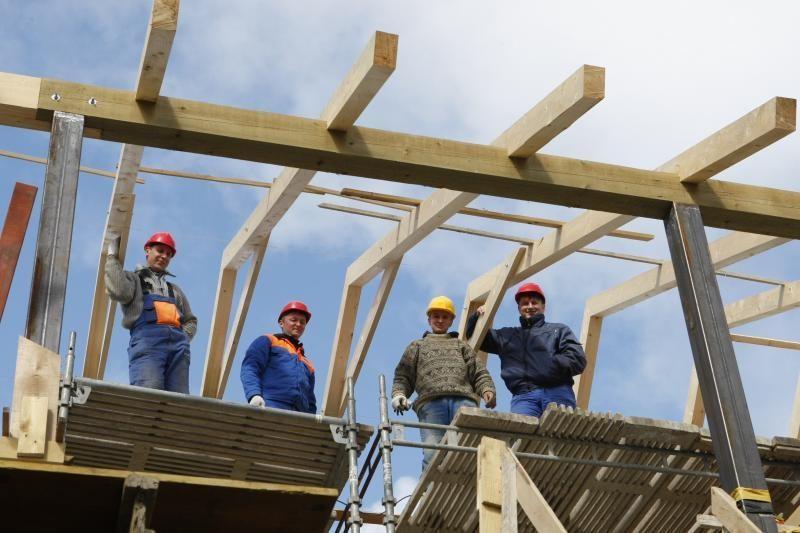 Lietuvoje statybos darbų šiemet padaugėjo 11,7 proc.
