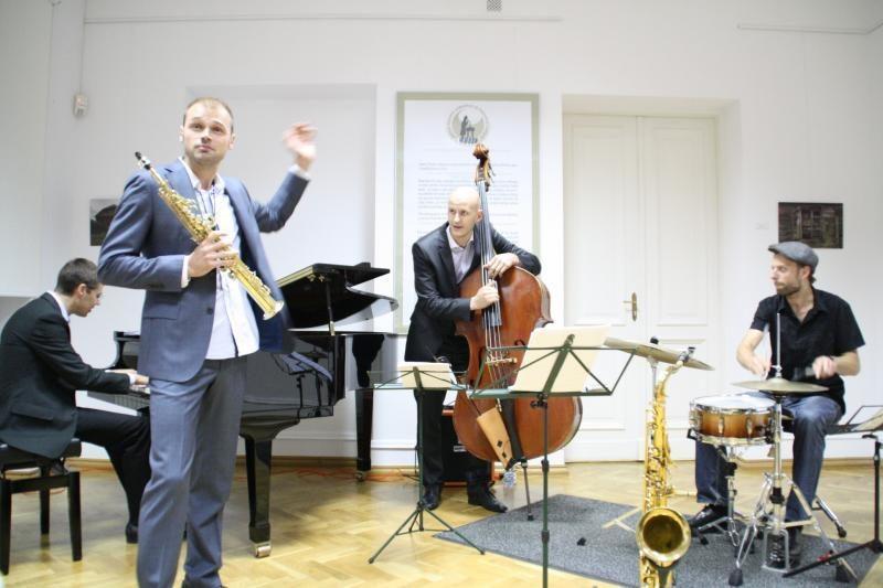Kęstučio Vaiginio džiazo kvarteto koncertai Lenkijoje
