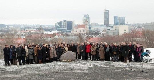 Vilniaus Tarybos nariai prisiminė Tautos namų idėją