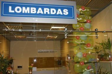 Lombarde pasigesta daiktų už 3000 litų