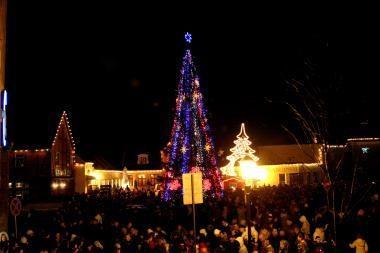 Kalėdos Klaipėdoje: kalėdinę eglę žadinsime varpeliais