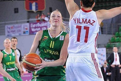Lietuvos moterų krepšinio rinktinė pralaimėjo baltarusėms