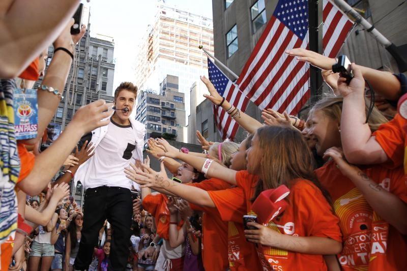 Tyrimas: tik pusė J. Bieberio gerbėjų yra tikri