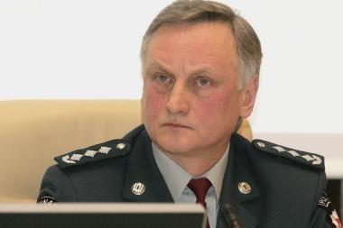 Kauno apskrities policijos vadovu liko A.Kaminskas