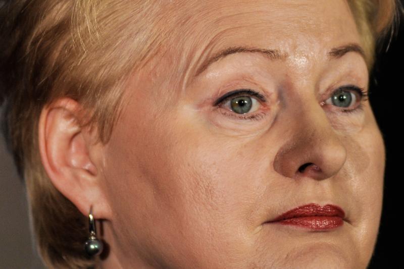 D.Grybauskaitė: kovojant su ekonomikos krize svarbu politinė valia