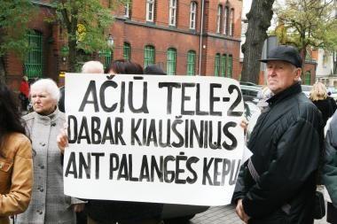 Gyventojai sukilo prieš TELE2