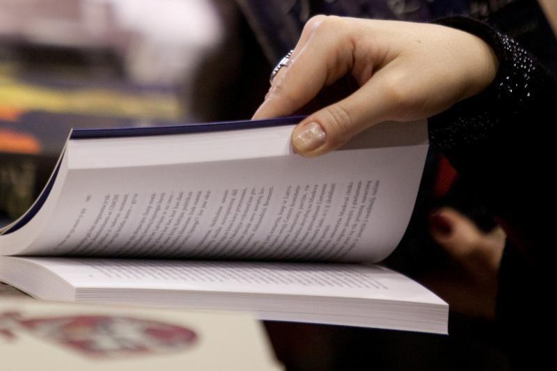 Istorinėje prezidentūroje pristatoma naujoji P.Venclovo knyga