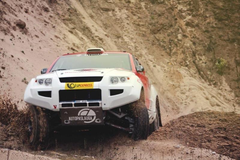 B. Vanagas po dar vienos avarijos baigė šeštą Dakaro ralio etapą